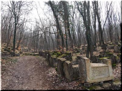 караимское кладбище фото