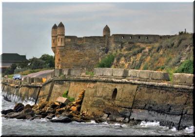 крепость ени-кале фото