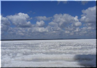 озеро узунлар крым