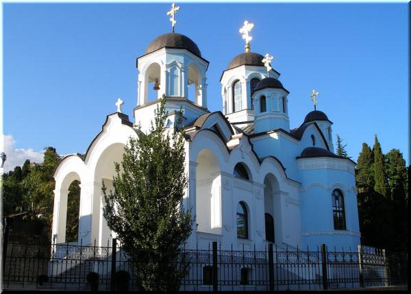 гурзуф успенская церковь