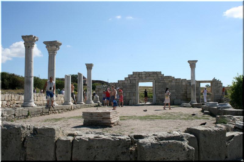 херсонес таврический базилика