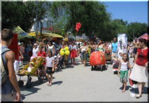 Парад колясок на День города Феодосии 2017