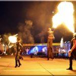 На август запланировано проведение фестиваля с огненным шоу «Крым Фаер Фест»