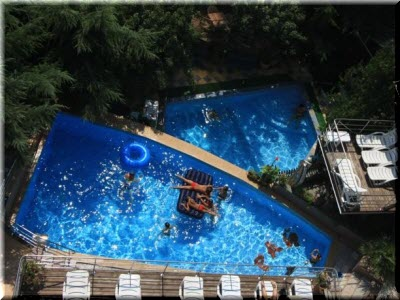 отель рай алушта фото бассейна