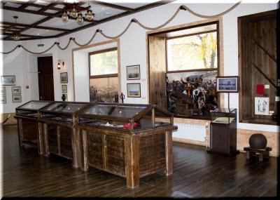 Фото в Музее истории Крымской войны