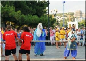 На день Нептуна в Алуште
