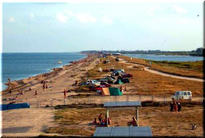 Отдых на Арабатской стрелке в Крыму