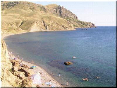 Пляжи в районе Капсельской бухты