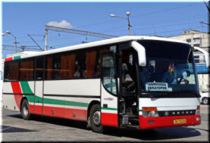 автобус Симферополь - Евпатория