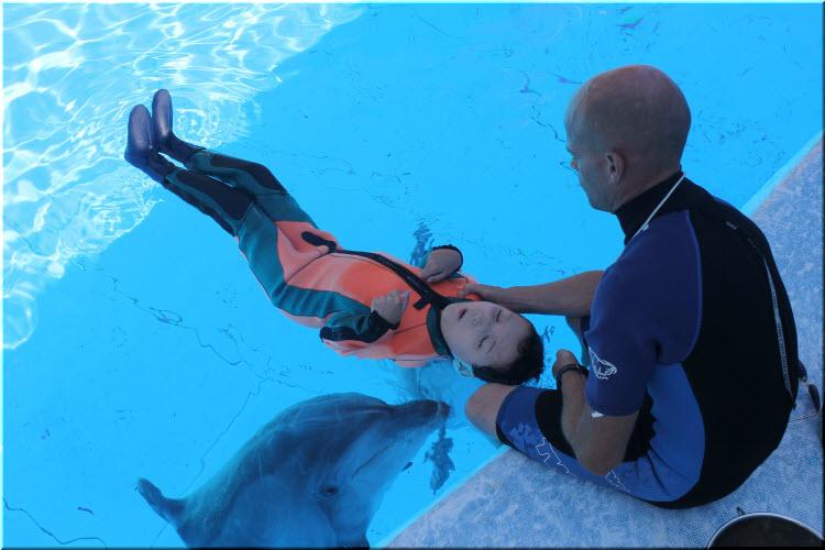 дельфинотерапия на Тарханкуте