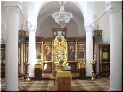 фото внутри храма двенадцати апостолов