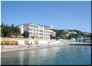 отели Алушты на берегу моря