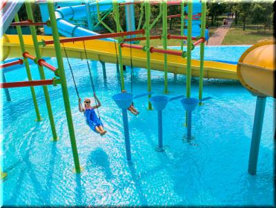 развлечения в аквапарке п. Песочное