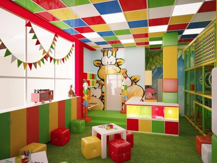 Игровая площадка «Кубики»