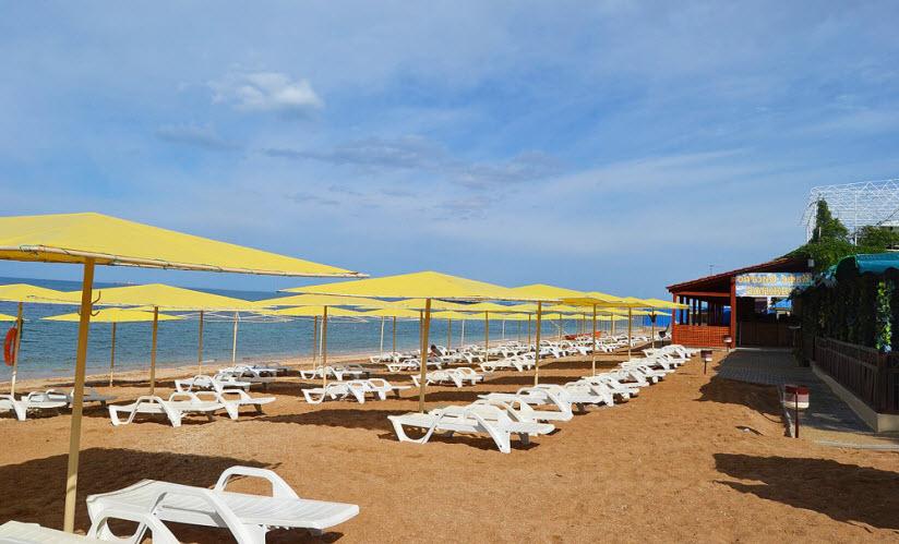 Пляж «Жемчужный»