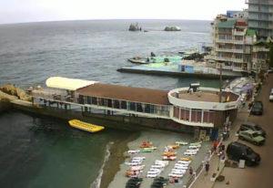 фото с веб-камеры гостиницы Санта-Барбара в Утесе