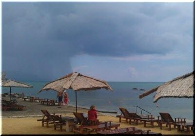 на пляже Мохито