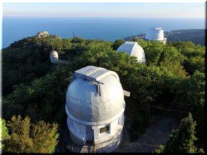 обсерватория в Симеизе