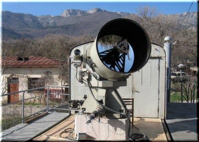 телескоп на горе Кошка