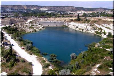вина на святое озеро Инкермана