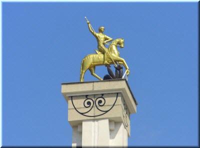 Георгий Победоносец в парке Победы