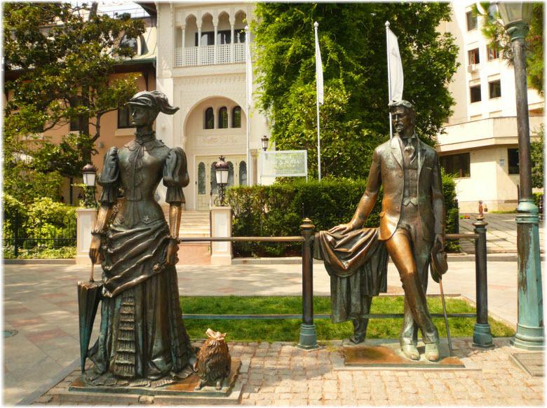 памятник Даме с собачкой