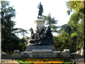 памятник Тотлебену в Севастополе