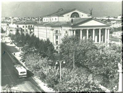 старые фото Драмтеатра