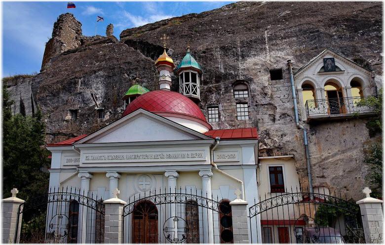 Инкерманский пещерный монастырь на фото