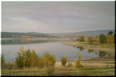 фото Симферопольского водохранилища