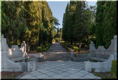 аллеи в Харакском парке