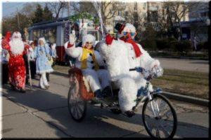 Дед Мороз в Евпатории