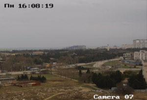 фото с веб-камеры у площади Неустроева