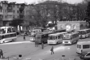фото с веб-камеры у площади Захарова