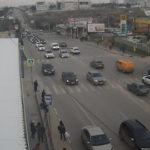 фото с веб-камеры у Студгородка в Севастополе
