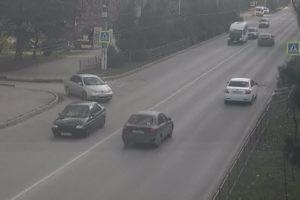 фото с веб-камеры у улица Вакуленчука в Севастополе