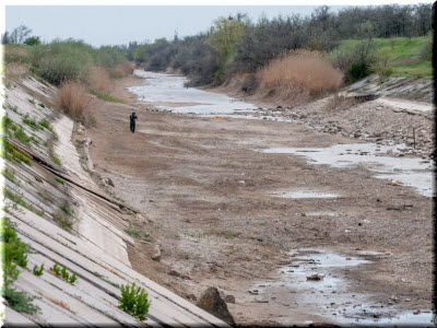 пересыхающий Северо-Крымский канал