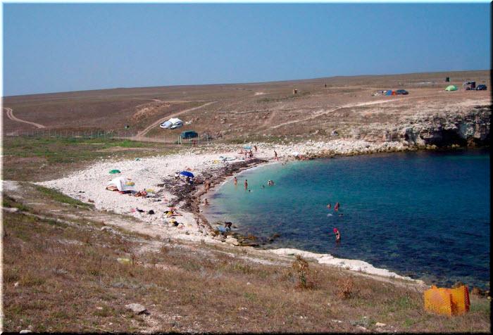 пляж Очеретай