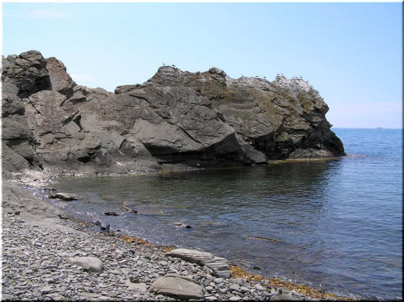 пляж у мыса Ай-Фока