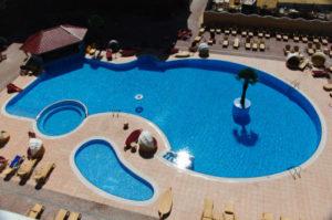 бассейн отеля Украина Палас