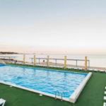 бассейн санатория Золотой берег в Евпатории