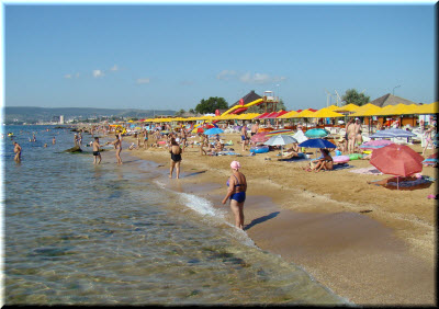 фото на пляже в Береговом