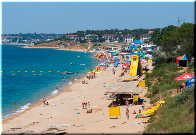 фото пляжа Учкуевка