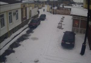 фото с камеры на Караимской улице в Евпатории