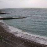 Онлайн камера на пляже санатория «Ай-Петри» в Мисхоре