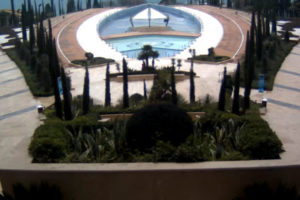фото с камеры у бассейна отеля Мрия
