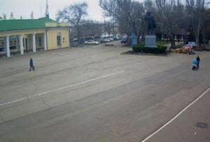 фото с камеры у ЖД-вокзала Феодосии