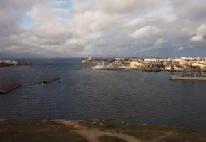 фото с камеры в Стрелецкой бухте