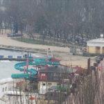 фото с круговой веб-камеры на набережной Феодосии