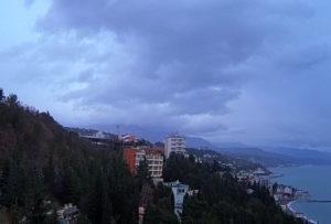 фото с веб-камеры отеля Море в Алуште